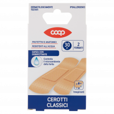 Coop-Cerotti Classici 2 Formati 30 pz
