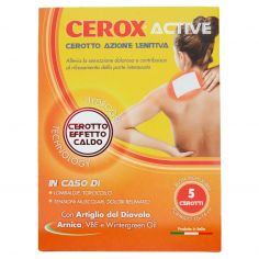 CEROX-Cerox Active Cerotto Azione Lenitiva 5 pz