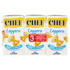 CHEF-Chef Leggera 3 x 125 ml