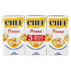 CHEF-Chef Panna 3 x 125 ml