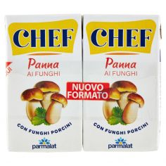 CHEF-Chef Panna ai Funghi 2 x 125 ml