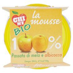 CHINI-Chini Bio la mousse Passata di mela e albicocca 2 x 100 g