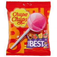 CHUPA CHUPS-Chupa Chups The Best Of 10 Lollipop Gusti Assortiti 120 g