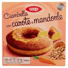 Coop-Ciambella con carote e mandorle 370 g