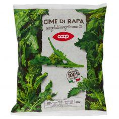 Coop-Cime di rapa surgelate singolarmente 600 g