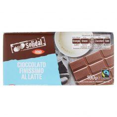 Coop-Cioccolato Finissimo al Latte 100 g