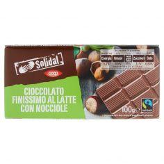 Coop-Cioccolato Finissimo al Latte con Nocciole 100 g