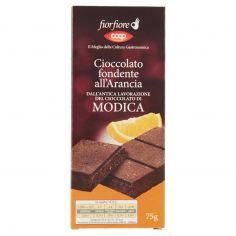 Coop-Cioccolato fondente all'Arancia dall'Antica Lavorazione del Cioccolato di Modica 75 g