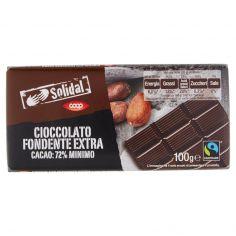 Coop-Cioccolato Fondente Extra Cacao: 72% Minimo 100 g