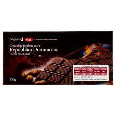 Coop-Cioccolato fondente extra Repubblica Dominicana Cacao: 70% Minimo 100 g