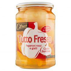 Citres Tutto Fresco Peperoni rossi e gialli Cipolle Borettane 540 g