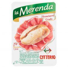 MERENDA-Citterio la Merenda Prosciutto Crudo 5 fette 30 g