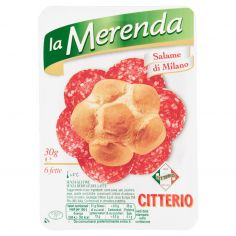 MERENDA-Citterio la Merenda Salame di Milano 6 fette 30 g