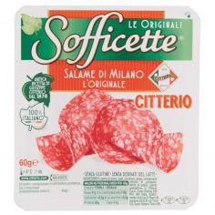 SOFFICETTE-Citterio Sofficette Salame di Milano l'Originale 60 g