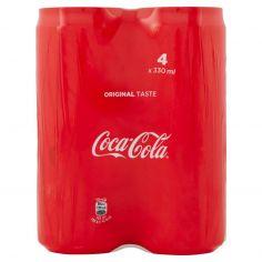 COCA COLA REGULAR-Coca-Cola lattina da 330mlx4