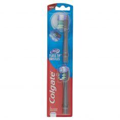 COLGATE-Colgate Floss 360 Tip Refill Spazzolino Batteria