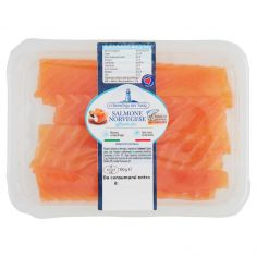Compagnia dei Mari Salmone Norvegese affumicato 100 g