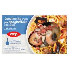 Coop-Condimento pronto per spaghettata allo scoglio Surgelato 400 g