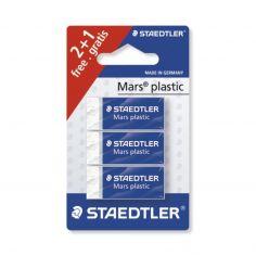 Confezione da 3 gomme Mars plastic mini