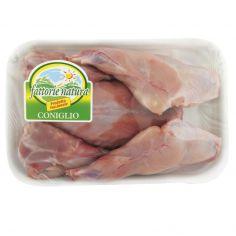 FATTORIE NATURA-Coniglio metà in parti 600 g ca
