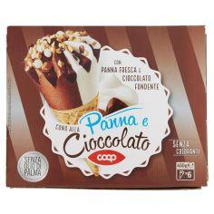 Coop-Cono alla Panna e Cioccolato 6 x 75 g