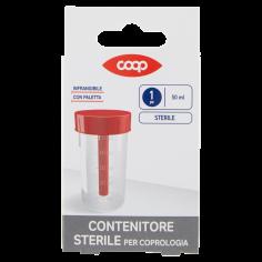 Coop-Contenitore Sterile per Coprologia 50 ml 1 pz