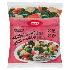 Coop-Contorno di Cavoli con Carotine al Naturale Surgelate 400 g