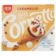 CORNETTO-Cornetto Algida Caramello 5 x 75 g