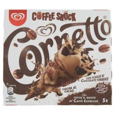 CORNETTO-Cornetto Algida Coffee Shock 5 x 75 g