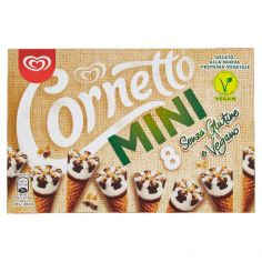 CORNETTO-Cornetto Algida Mini Senza Glutine e Vegano 8 x 40 g