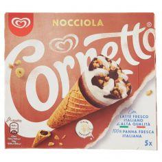 CORNETTO-Cornetto Algida Nocciola 5 x 75 g