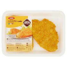 Coop-cotolette di pollo Italiano 0,220 kg