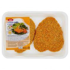 Coop-cotolette pollo e spinaci 220 g