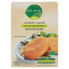 Coop-cotolette vegetali Biologiche 2 x 100 g
