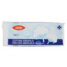 Coop-Cotone Idrofilo per Uso Medicale Pretagliato 100 g