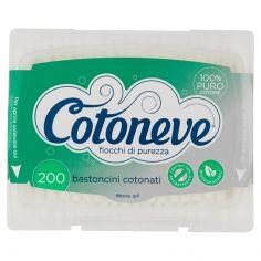 COTONEVE-Cotoneve bastoncini cotonati 200 pz