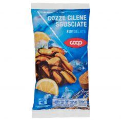 Coop-Cozze cilene sgusciate surgelate 250g
