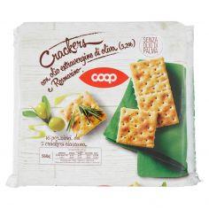 Coop-Crackers con olio extravergine di oliva (3,2%) e Rosmarino 16 x 35 g