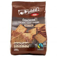 Coop-Crackers con Riso, Farro e Sesamo 200 g