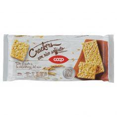 Coop-Crackers con riso soffiato 300 g