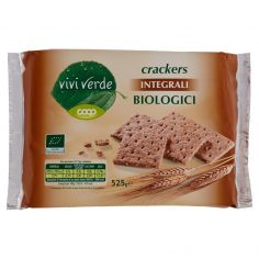 Coop-crackers Integrali Biologici 14 x 37,5 g