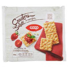 Coop-Crakers Salati in superficie 16 x 35 g