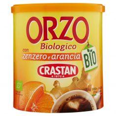 CRASTAN-Crastan Bio Orzo Biologico con zenzero e arancia 120 g