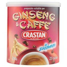 CRASTAN-Crastan preparato solubile per Ginseng & Caffè da zuccherare 200 g