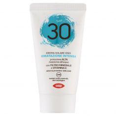 Coop-Crema Solare Viso Idratazione Intensa 30 protezione Alta 50 ml