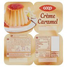 Coop-Crème Caramel 4 x 100 g