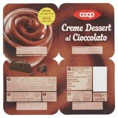 Coop-Creme Dessert al Cioccolato 4 x 125 g