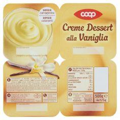Coop-Creme Dessert alla Vaniglia 4 x 125 g