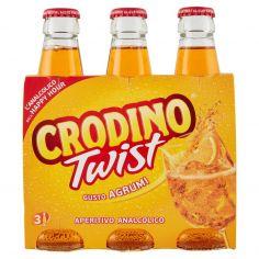 CRODINO TWIST-Crodino Twist Gusto Agrumi 3 x 17,5 cl