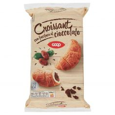 Coop-Croissant con farcitura al cioccolato 6 Pezzi 300 g